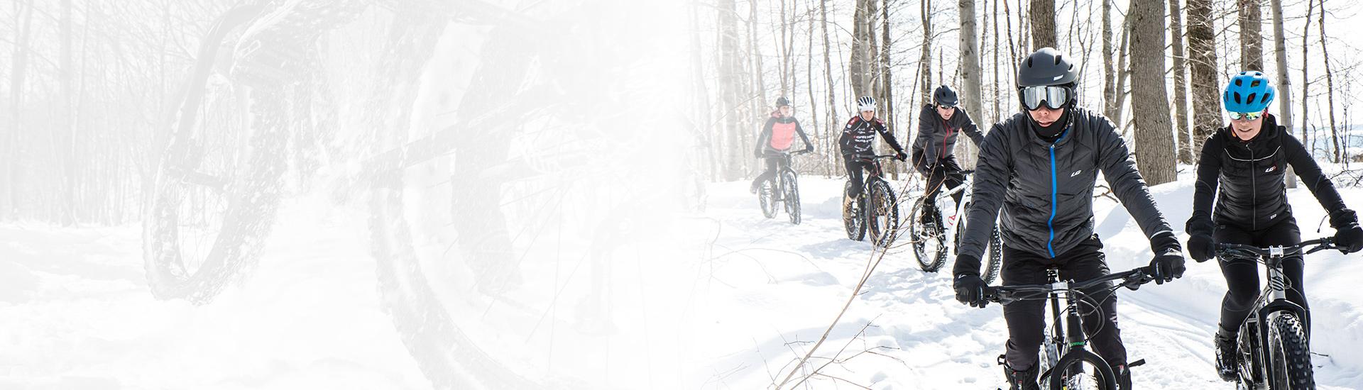 5 bonnes raisons d'avoir un fatbike* cet hiver